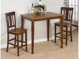 tall kitchen table for two dining room coaster dinette tall