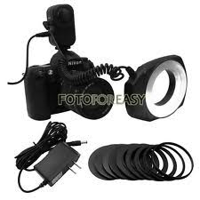 neewer macro ring led light neewer macro ring led light with 6pcs adapter rings for canon nikon