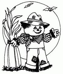 25 scarecrow coloring pages free printable ideas