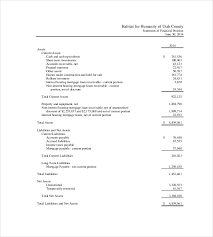 Income Statement For Non Profit Organization Template by Income Statement Template 17 Free Word Excel Pdf Format