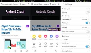 android browser 18 best android web browsers 2018 android crush