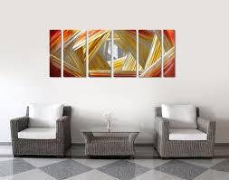 compare prices on contemporary abstract paintings online shopping aluminum wall art original large abstract painting modern contemporary sculpture decorative artwork china