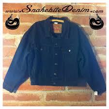 black riding jacket snakebite denim u2014 levis black denim riding jacket deadstock vintage