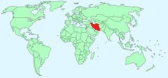 middle east map water bodies where is iran quora