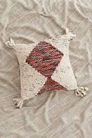 Loloi Pillows Dhurrie Style Pillow Woven Loop Pillow Pillows Spaces And Bed Cushions