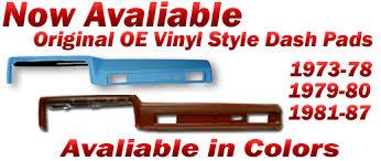 1973 1987 full size chevy u0026 gmc truck dash pads u0026 covers chevy