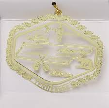 all 50 state collectible brass ornaments wall store