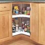Kitchen Cabinet Corner Solutions Kitchen Shelves Shelfgenie Of Naples