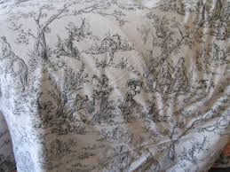 black and white toile bedding queen home beds decoration