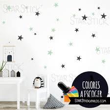stickers étoile chambre bébé vinyle enfant étoiles