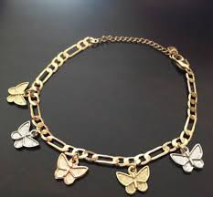 butterfly bracelet charms images Unknown 14k gold butterfly charm bracelet size one size jewelry