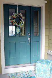 painted front doors door decoration