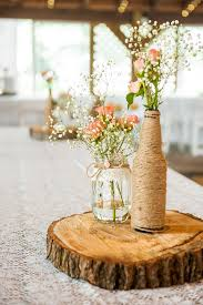 Log Centerpiece Ideas by Tidewater And Tulle A Hampton Roads Virginia Wedding Inspiration