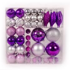 purple and silver christmas tree decorations christmas lights