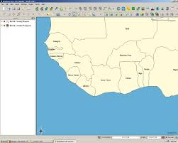 Liberia Africa Map by Qgis West Africa Map Mr Minton Flickr