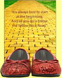the yellow brick road clipart