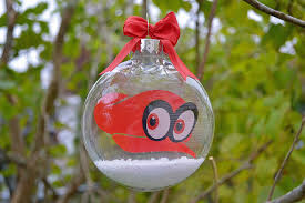 mario odyssey cappy tree ornament