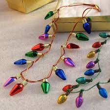 christmas light necklace iridessa s light necklace disney family