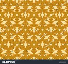 golden orange color abstract floral pattern golden color vector stock vector 476840578