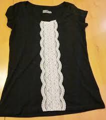 Extreme 9 ideias de como customizar camiseta com renda | CUSTOMIZANDO.NET  &AD71