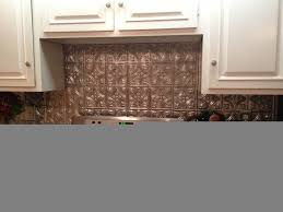 interior cool diy faux tin kitchen backsplash with vase top faux