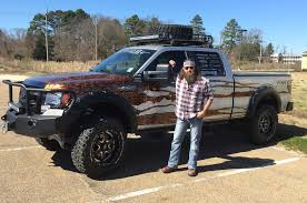 amphibious dodge truck celebrity drive u0027duck dynasty u0027 star willie robertson motor trend