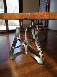 industrial tables for sale 11 best vintage industrial steunk table legs images on in metal