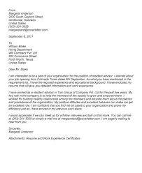 Resident Assistant Job Description Resume Unique Cover Letter For Resident Advisor Position 54 In Simple