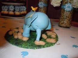 elephant centerpieces for baby shower a peanut on the way made for a special day