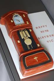 grandfather clock cake cakes cupcakes and icings pinterest