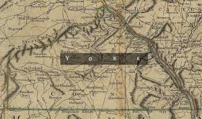 York Pennsylvania Map by York County Pennsylvania Militia 1777 Journal Of The American