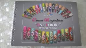 nail art manuale pratico one stroke di oxana youtube