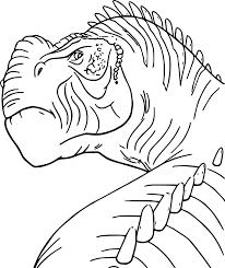 kron dinosaur coloring page wecoloringpage