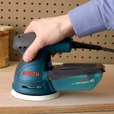 Belt Sander Rental Lowes by Bosch Ros20vsk Variable Speed Random Orbit Palm Sander With Hard