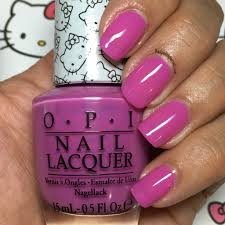 super cute in pink from the hello kitty by opi 2016 collection