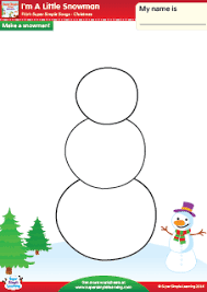 i u0027m a little snowman