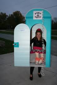 Halloween Illusion Costumes Coolest Homemade Outhouse Illusion Costumes