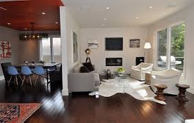 White Cowhide Rug 20 Living Rooms Adorned With Cowhide Rugs Home Design Lover