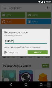 free play store gift cards now you just to type in your play gift card code the