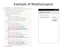 android layout width android layouts david meredith ppt