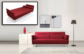 Modern Single Couch Chair Red Modern Sofa