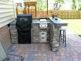 cheap outdoor kitchen ideas simple outdoor kitchen bloomingcactus me