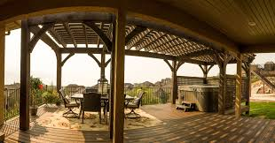 Decks And Pergolas Construction Manual by Western Timber Frame News Timber Projects Trade Shows And More