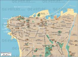 beirut on map geoatlas city maps beirut map city illustrator fully