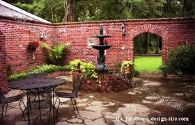Enclosed Backyard Enclosed Courtyard Patio