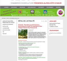 chambre d agriculture paca filière amandes la chambre régionale d agriculture paca et ses