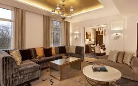 Two Sided Couch Hotel Suites In London The Grand Suite Sheraton Grand