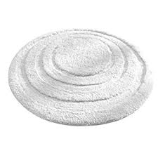 bathroom accent rugs amazon com interdesign microfiber spa round bathroom accent rug 24