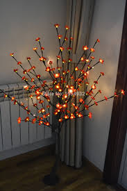 led light tree branches free shipping 52 160pcs blossom plum cherry led tree light in