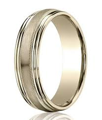 wedding ring designs gold mens 14k white gold wedding band satin finish 6mm